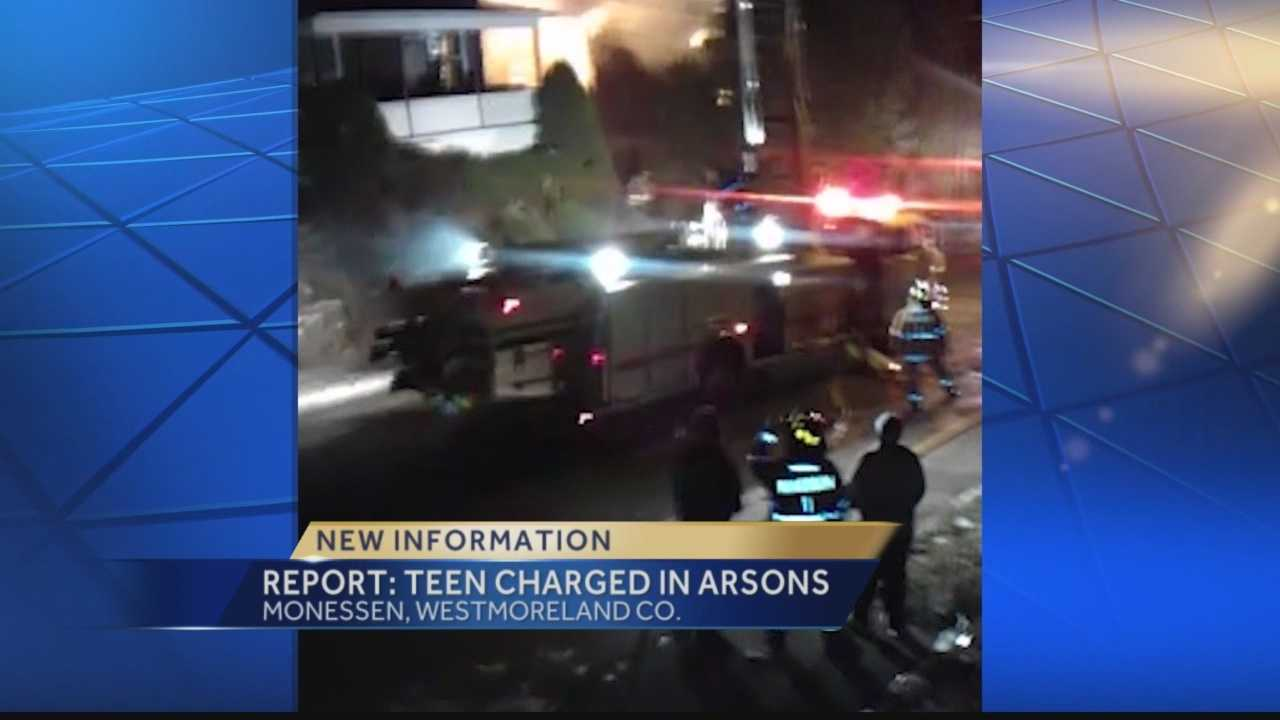 Monessen Police have charged a juvenile with setting or attempting to set three fires in Monessen.