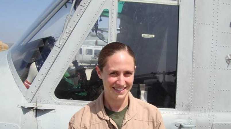 Capt. Elizabeth Kealey - U.S. Marine Corps.