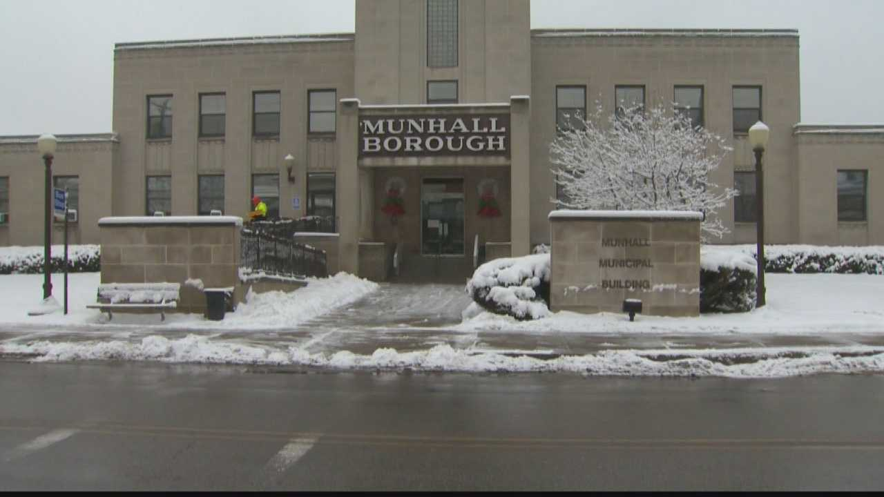 The Munhall borough building.