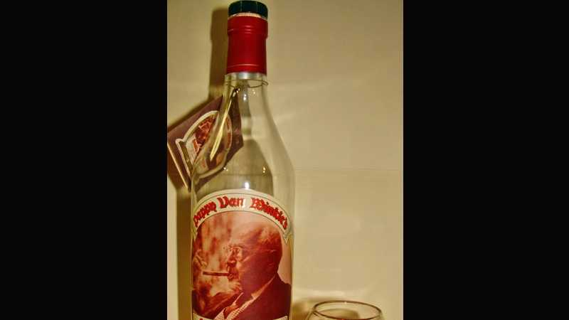 A bottle of Pappy Van Winkle's Family Reserve, as seen on Wikimedia Commons.