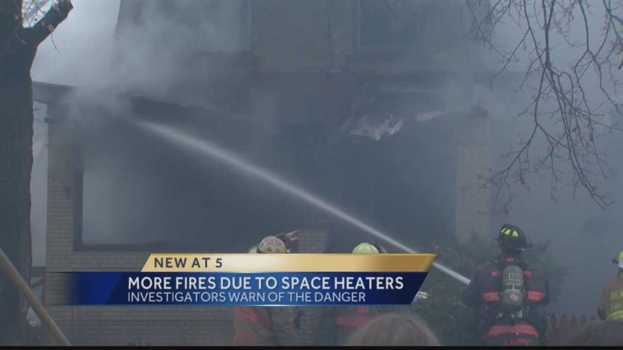 House fires caused by alternative heat sources are common during winter weather.