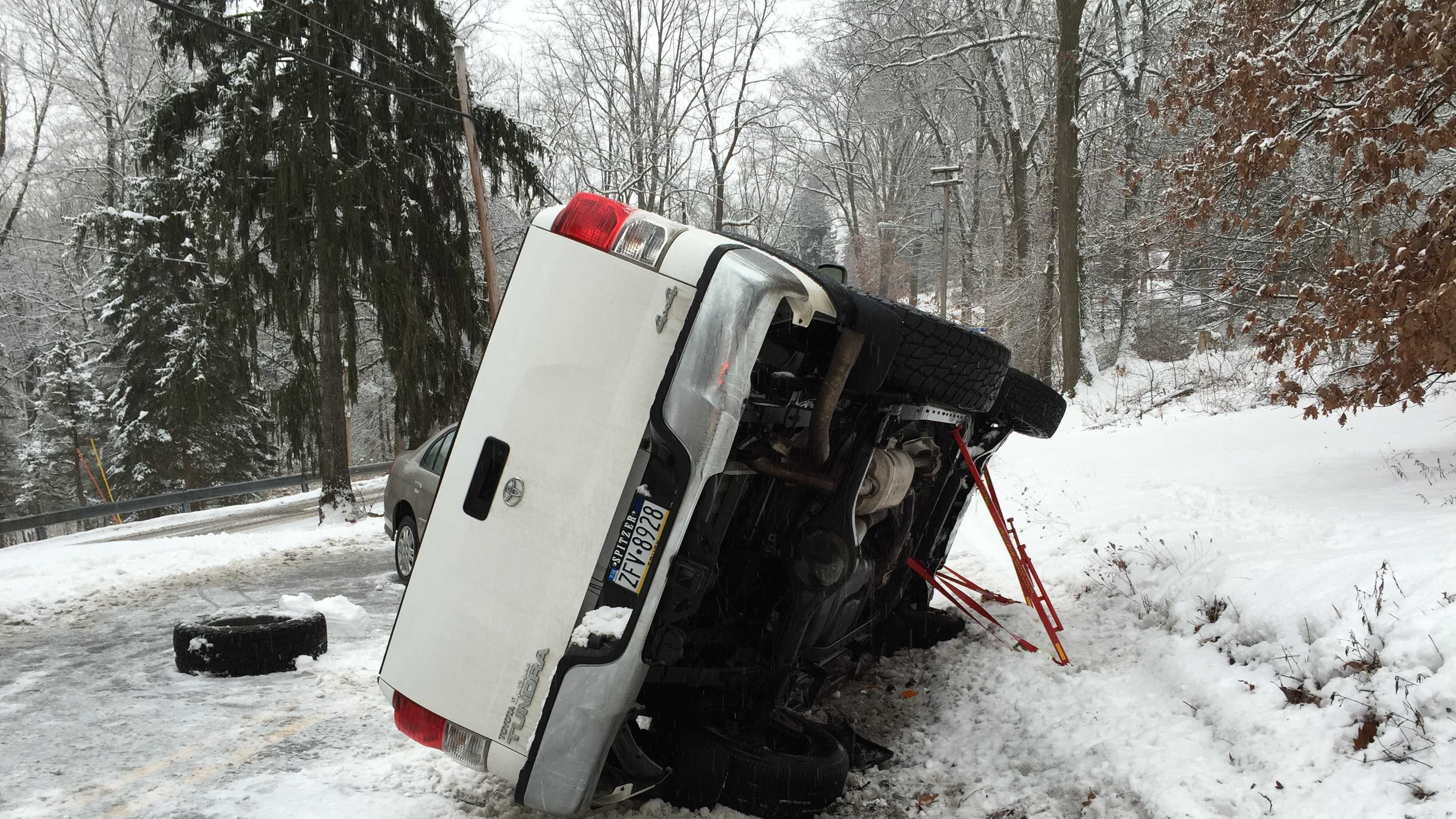 No one was injured after a 2-car accident in Murrysville, Westmoreland County.