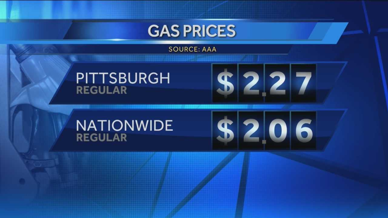 Pittsburgh's Action News 4's Michele Wright takes a look at how Pittsburgh stakes up against the national average when it comes to fuel prioces at the pump.