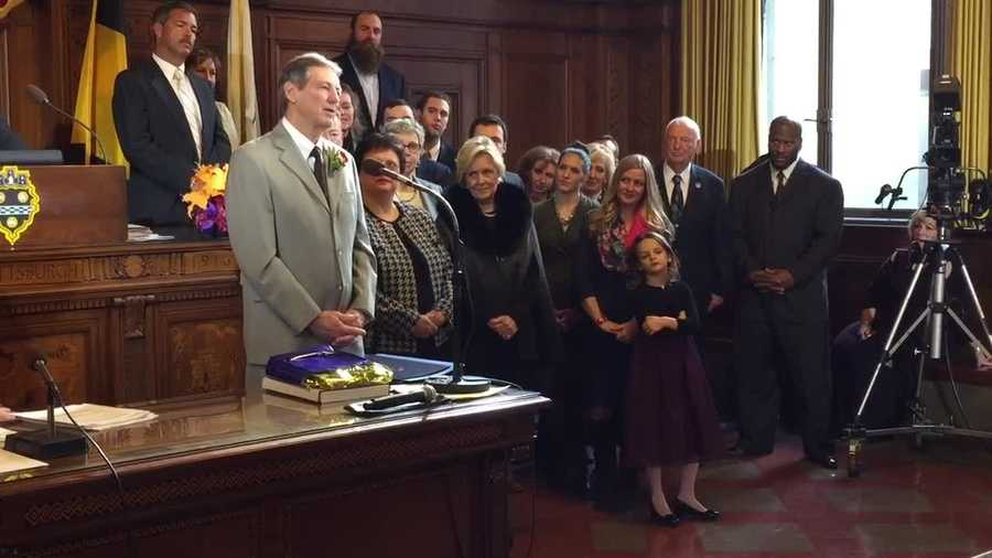 The former Steelers defensive coordinator was surrounded by family as the city council declared February 2015 as Dick LeBeau Month in Pittsburgh.