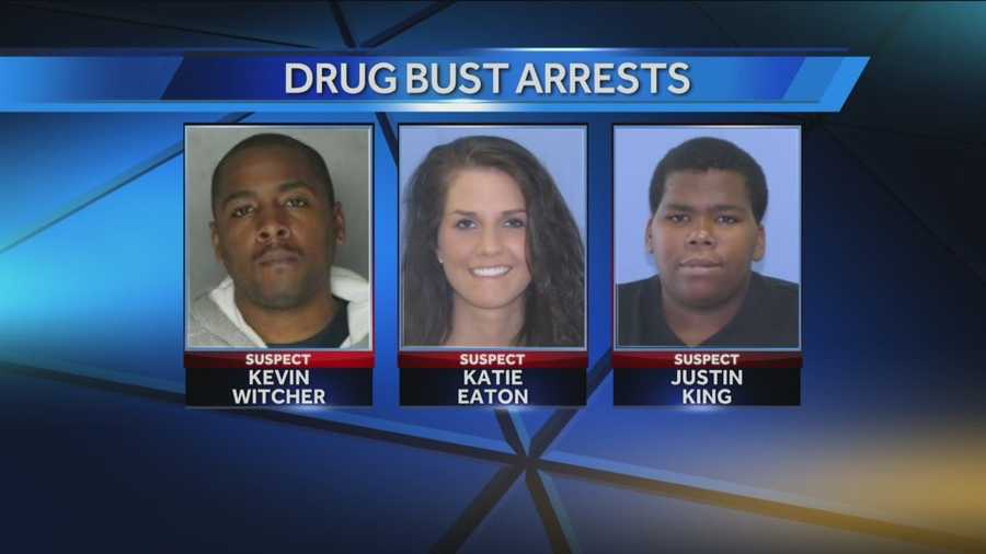Kevin Witcher, Katie Eaton, Justin King
