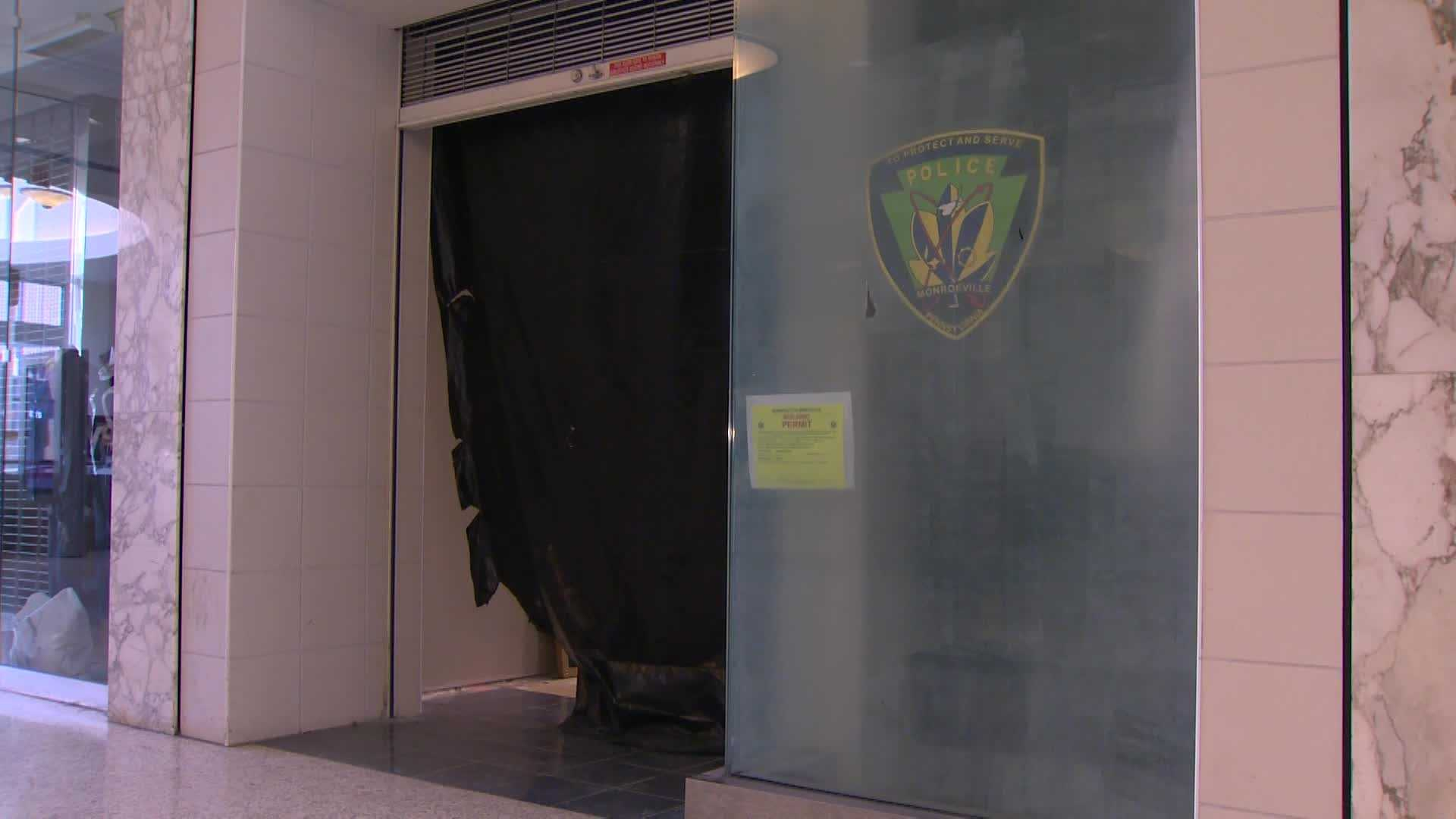 A Monroeville police substation is under construction at the Monroeville Mall.