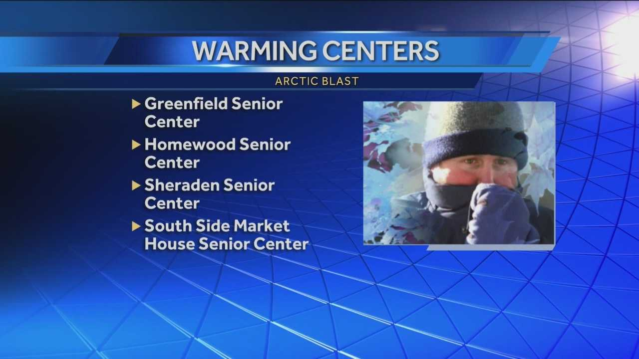 Pittsburgh's Action News 4's Amber Nicotra has the latest on the various warming centers that are open across Pittsburgh today.