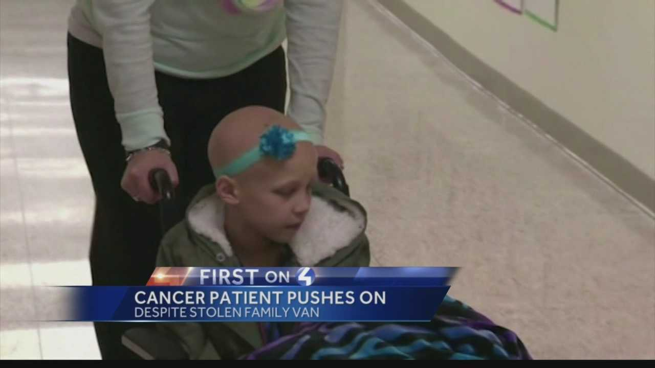 Neveah and her family settling into California for the 8-year-old's cancer treatments