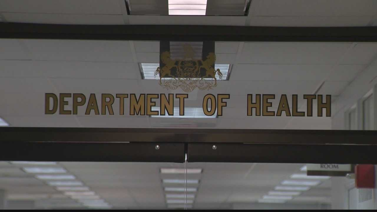 The Pennsylvania Department of Health.