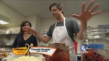 Trevett Hooper, Chef at Legume --@legumebistro on Twitter
