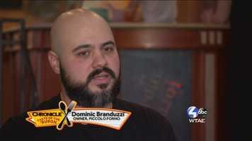 Dominic Branduzzi, Owner of Piccolo Forino
