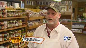 Brian Thomas of Thoma Meat Market --@FTT_Pittsburgh on Twitter