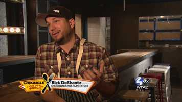 Rick DeShantz, Chef/Owner of Meat & Potatoes --@4meatnpotatoes