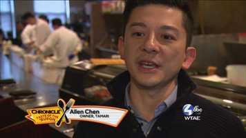 Allen Chen, Owner of Tamari