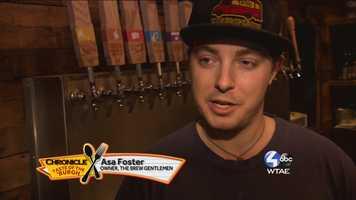 Asa Foster, Owner of The Brew Gentlemen --@BrewGentleman on Twitter