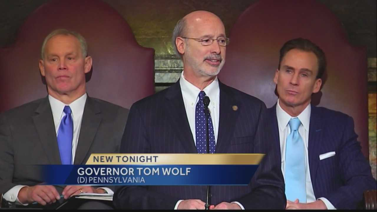 Wolf seeks billions in higher taxes for Pa.