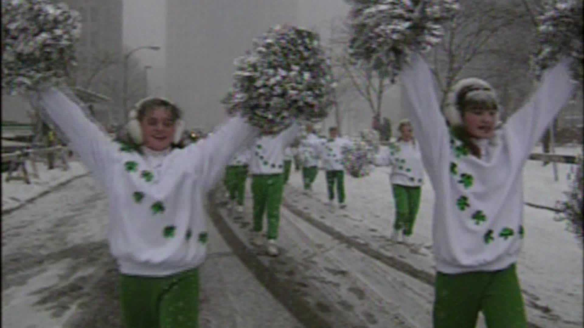 Pittsburgh experienced a different kind of March madness in 1993. A blizzard blanketed the city with snow but didn't stop the St. Patrick's Day Parade.