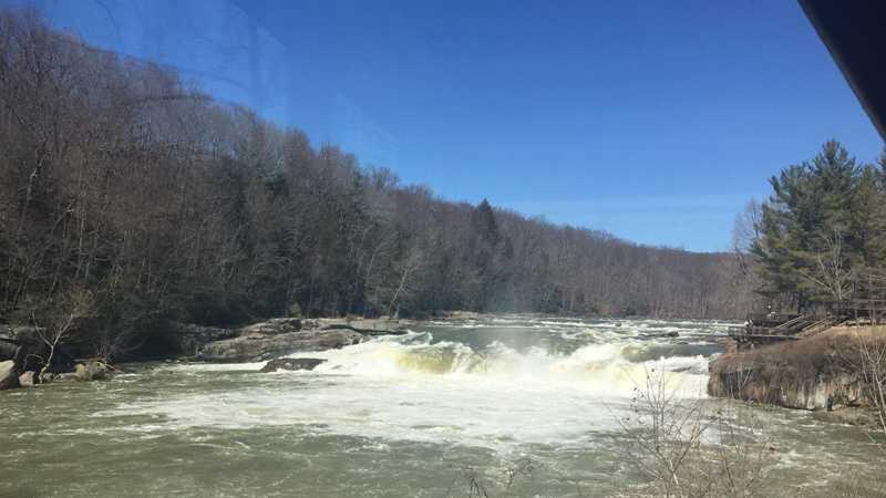 The Ohiopyle Falls