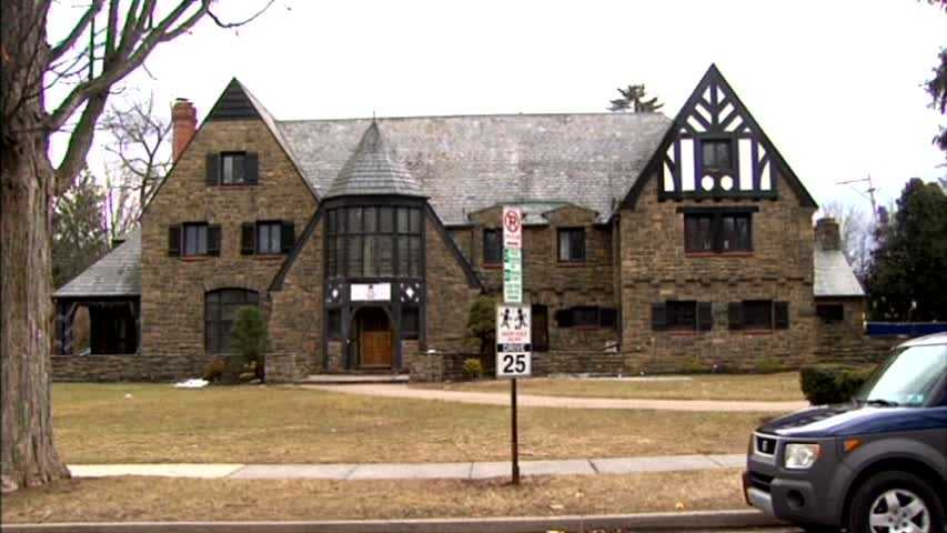 The Kappa Delta Rho fraternity house at Penn State.