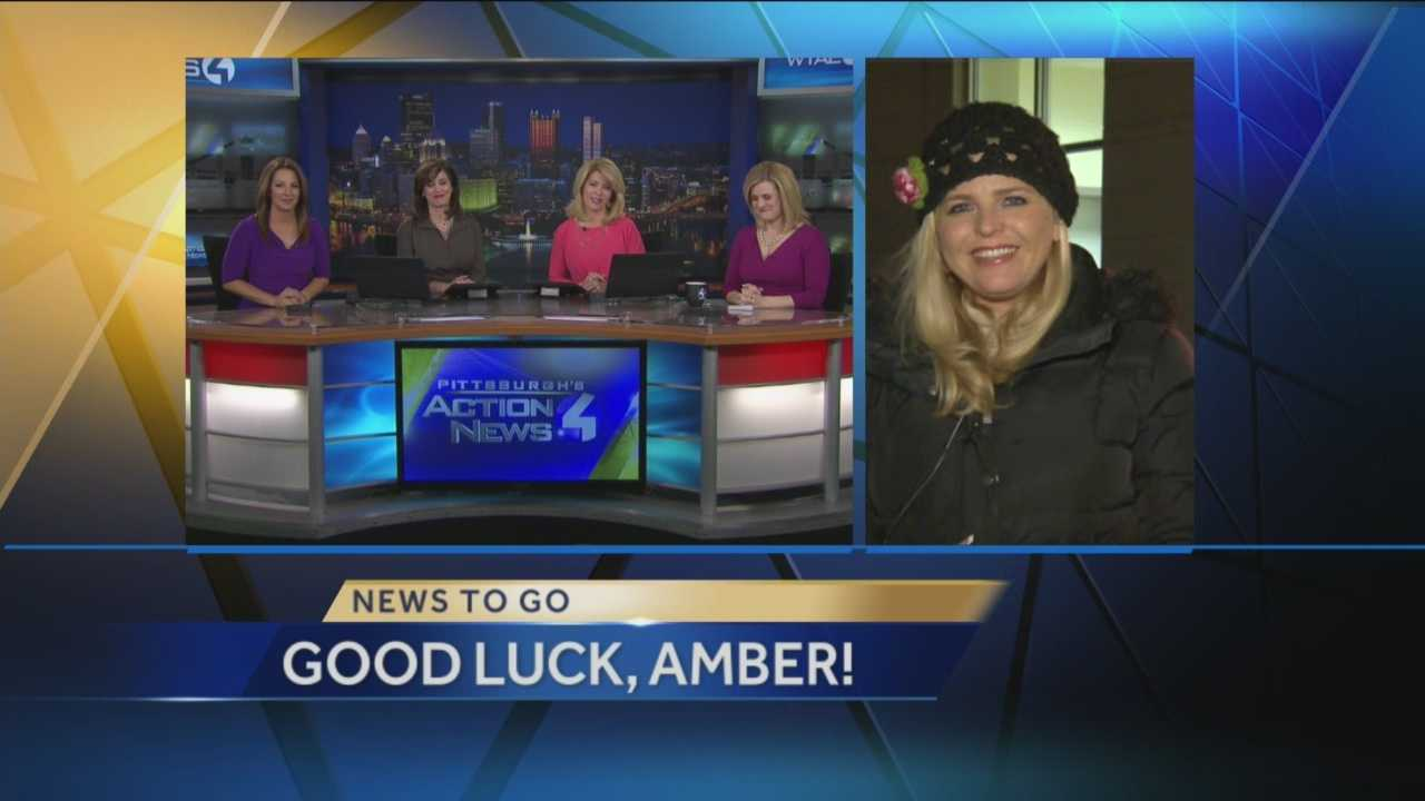 The Pittsburgh's Action News 4 This Morning crew says goodbye to long time reporter Amber Nicotra as she signs off from WTAE-TV to begin a a new career outside of the TV industry.