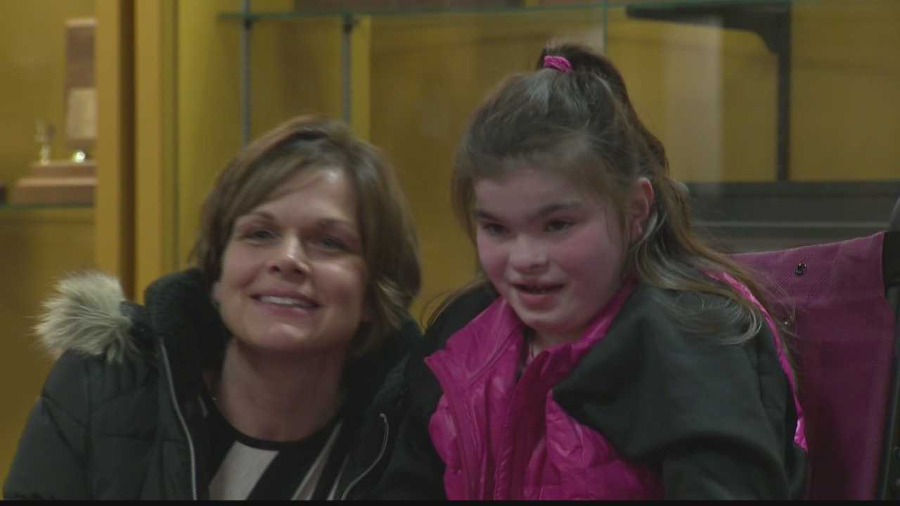 Kaitlin Montgomery and her mother, Tracy Montgomery