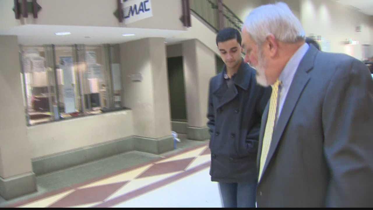 CMU peeper in court