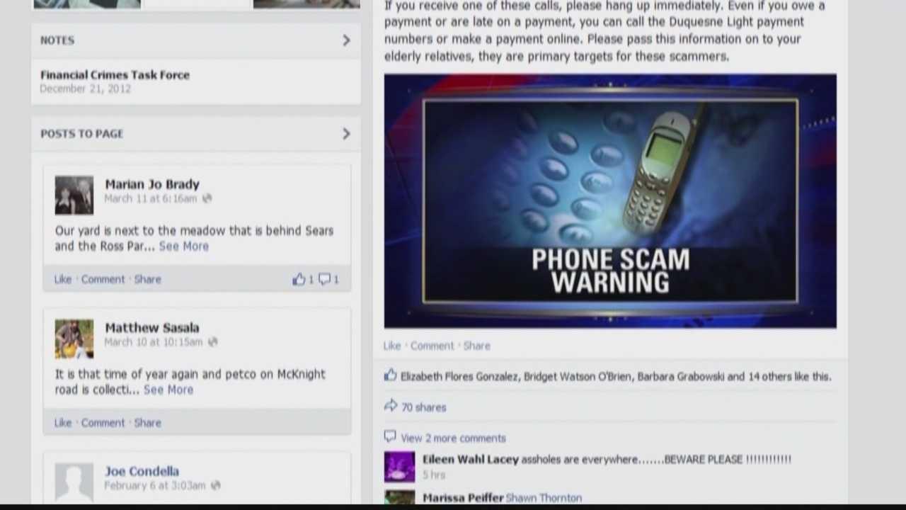 Ross Township police issue warning to residents via social media