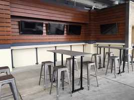 The Terrace Bar offers 7 flatscreen TVs so you don't miss any action and is available to all ticket holders
