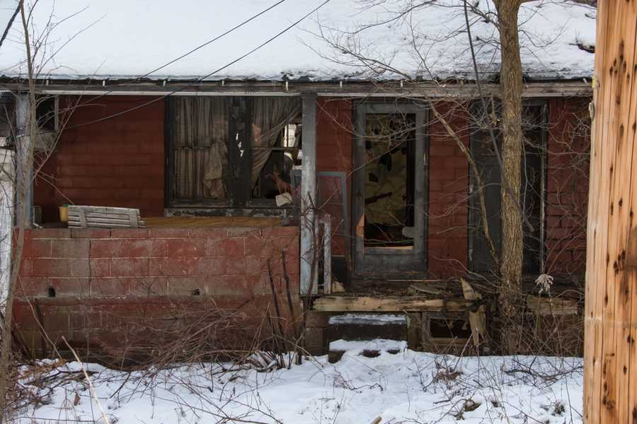 Clairton abandoned house