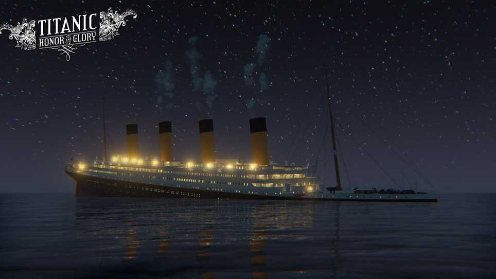 historical video game to commemorate titanic sinking