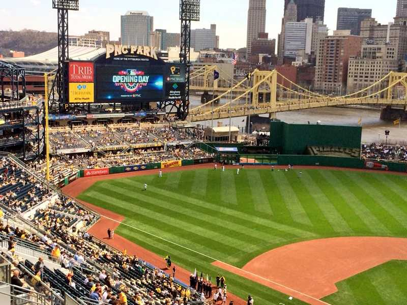 Photos From The 2015 Pittsburgh Pirates Home Opener At PNC Park