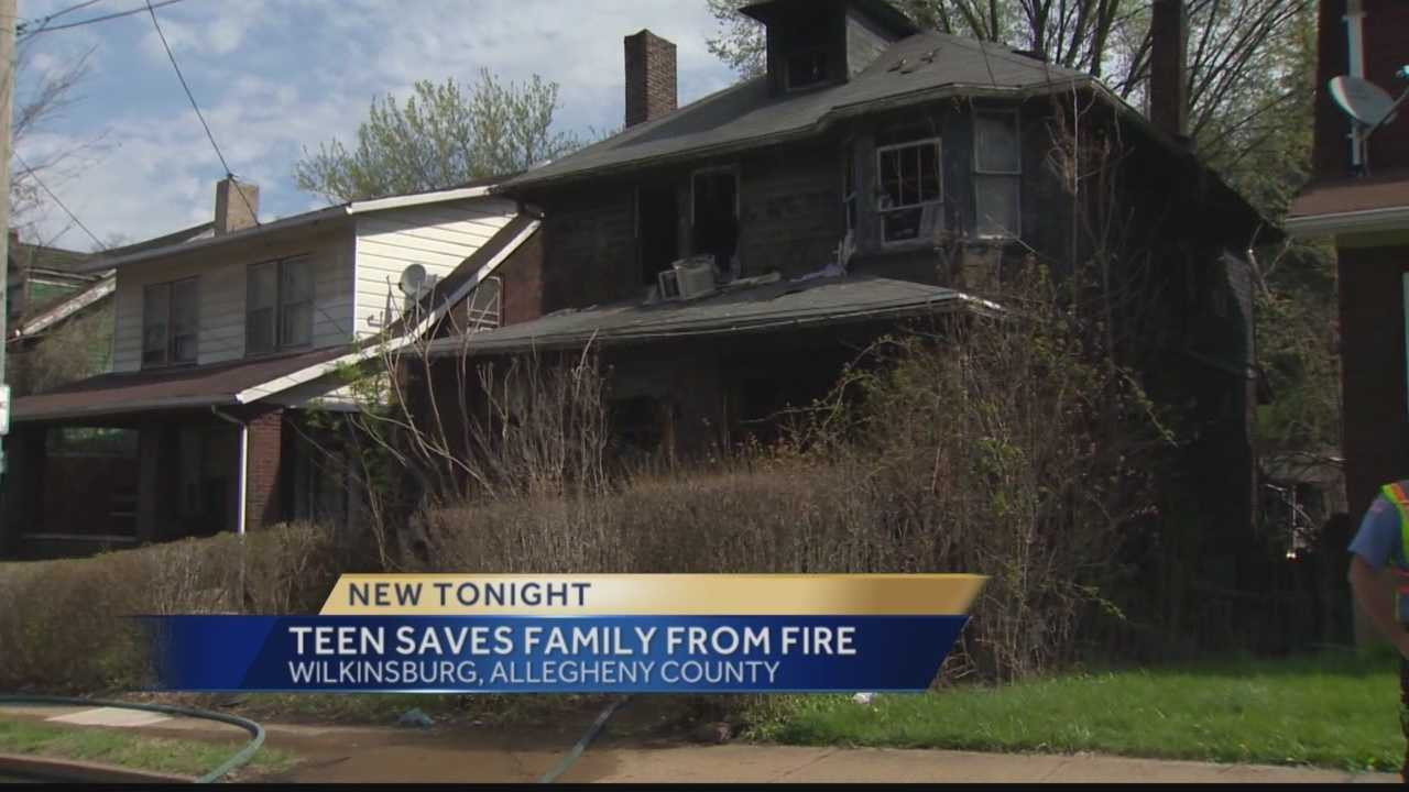 A Wilkinsburg home was destroyed by a fire Sunday afternoon on Ardmore Boulevard.