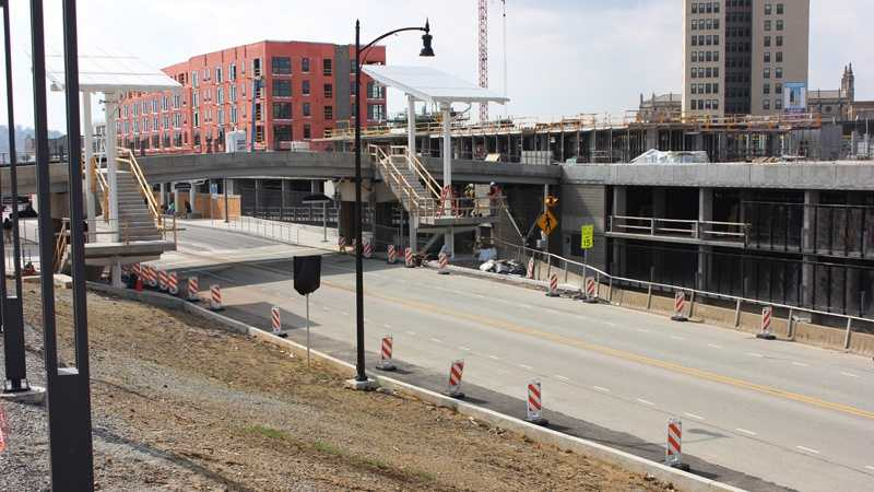 East Liberty Station construction