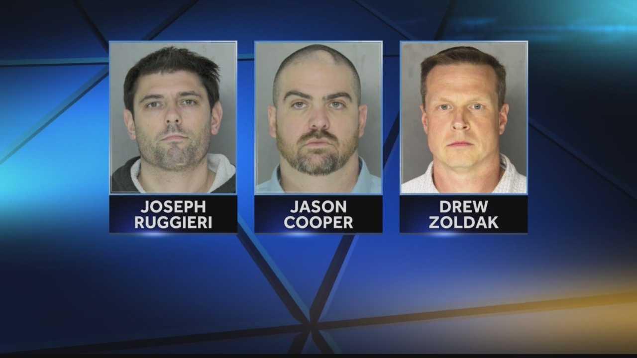 Joseph Ruggieri, Jason Cooper, Drew Zoldak