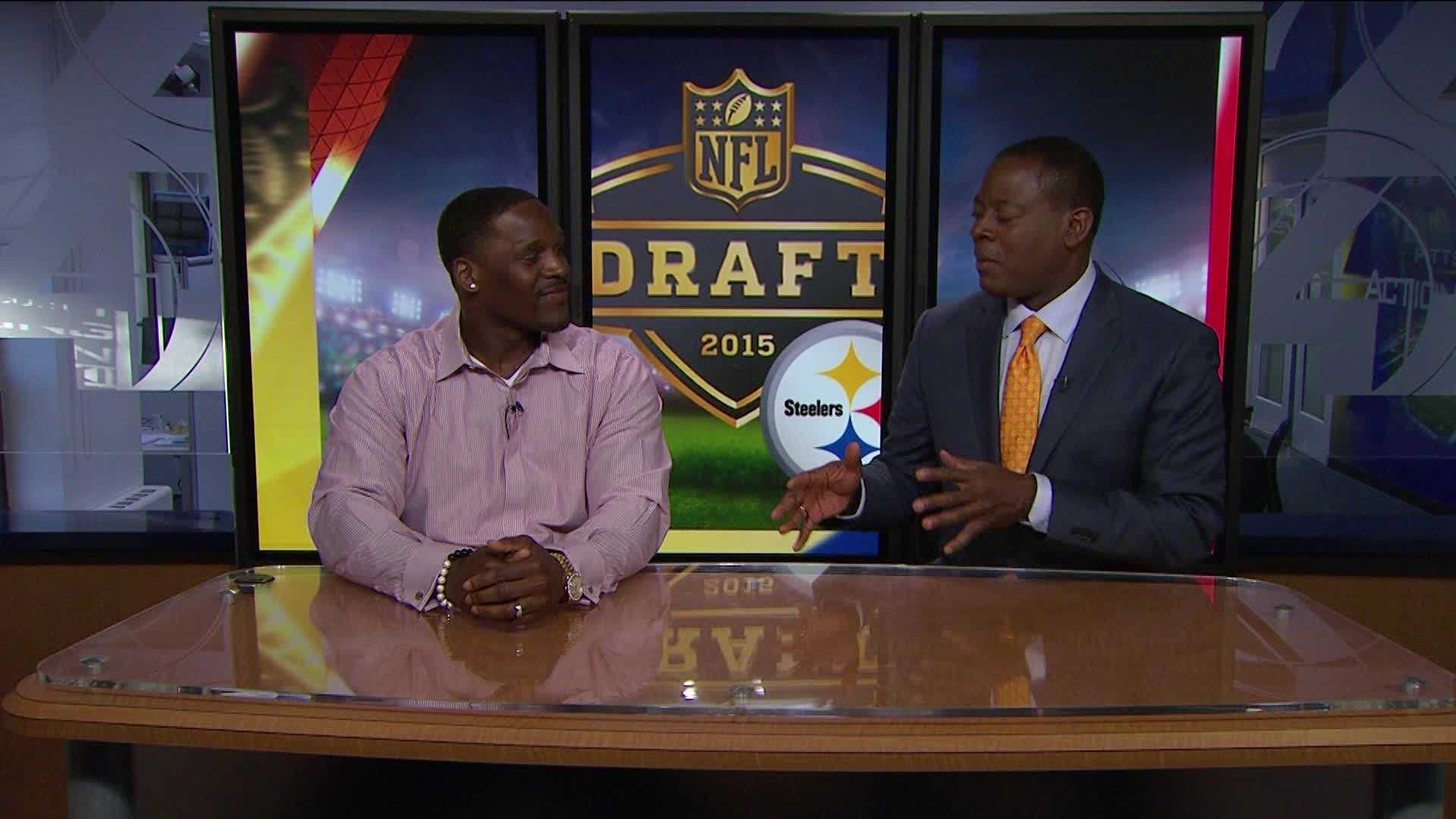 Steeler LB Arthur Moats analyzes Steelers draft needs and the draft day experience.