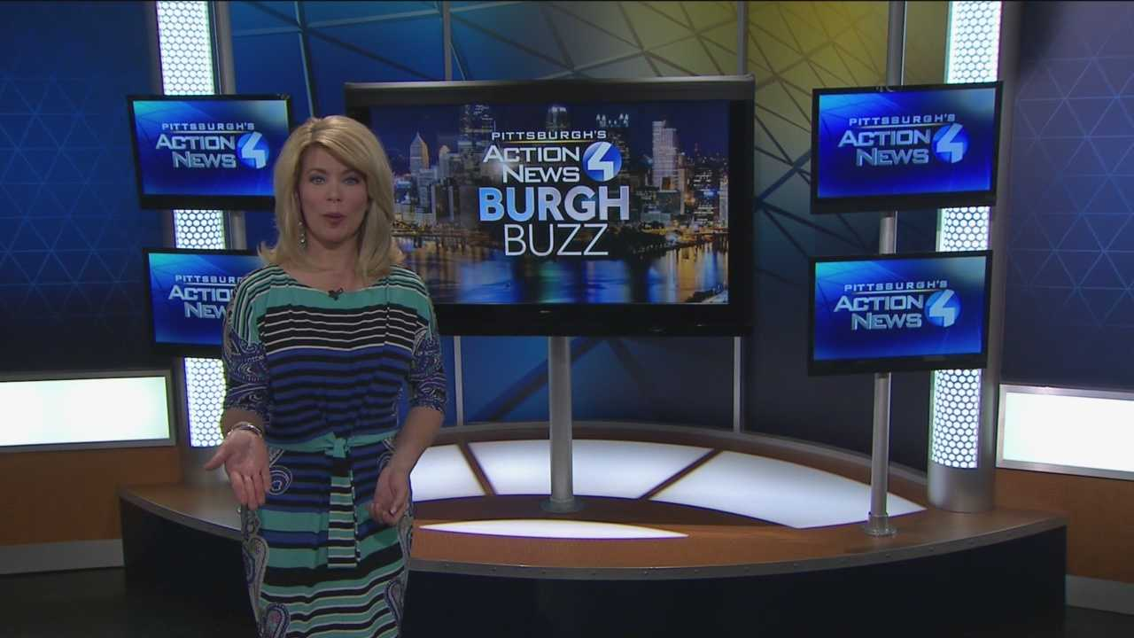 Pittsburgh's Action News 4's Kelly Frey has today's edition of the Burgh Buzz