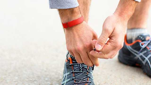 Fitbit shoe