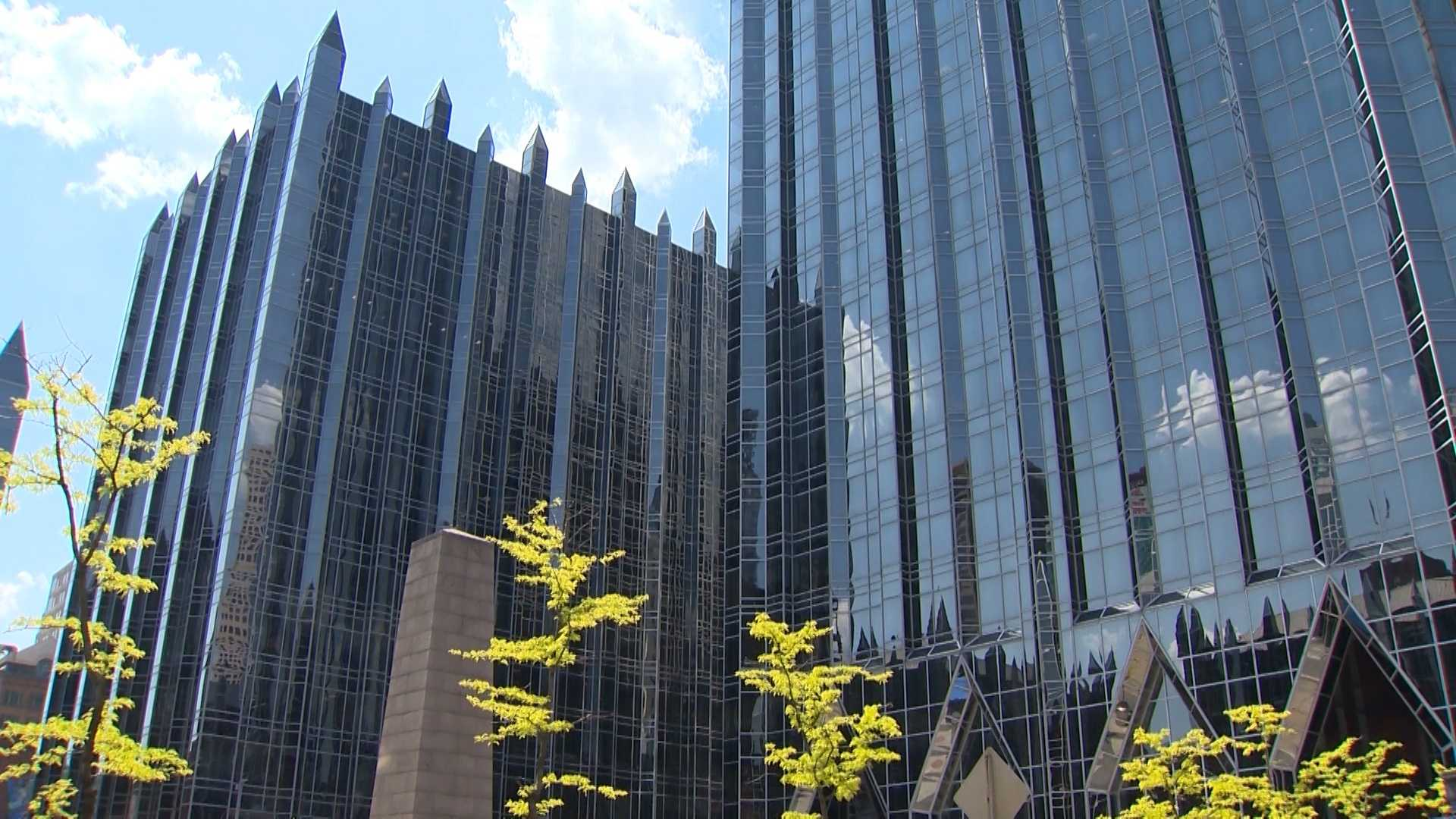 The PPG Place complex in downtown Pittsburgh.