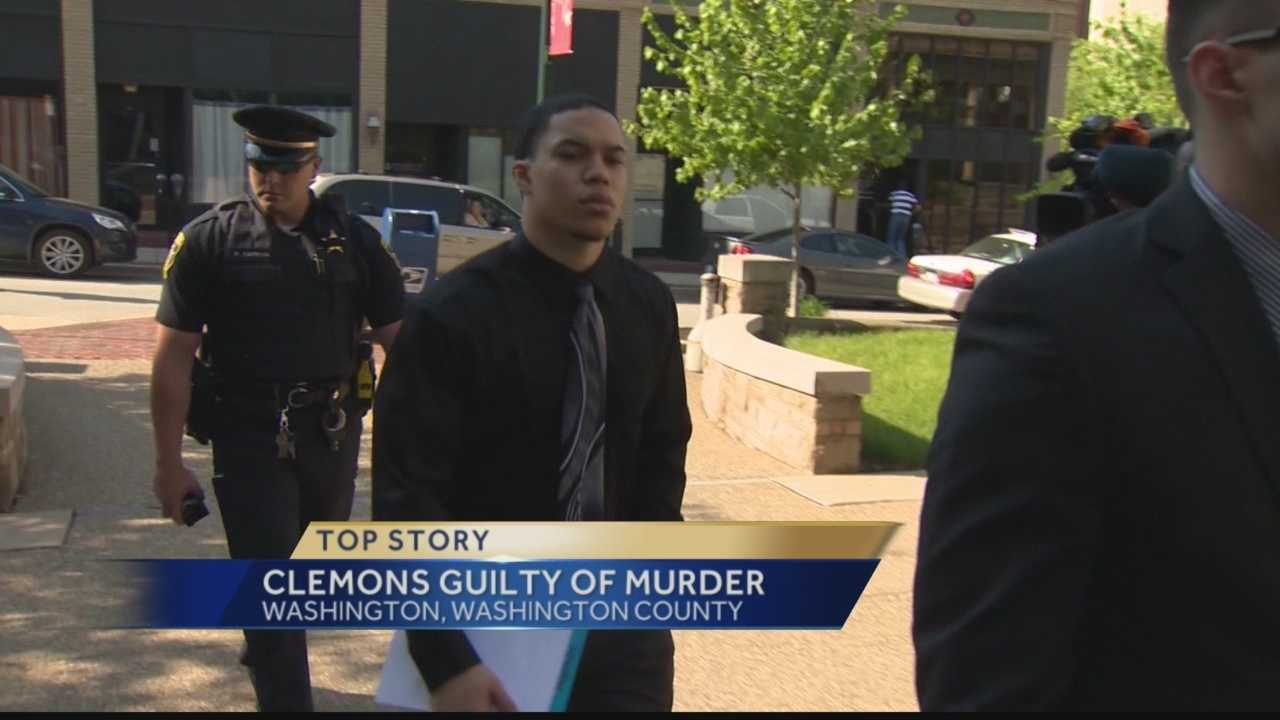 Jordan Clemons was found guilty of first-degree murder for killing Karissa Kunco, who had filed a protection from abuse order against him.
