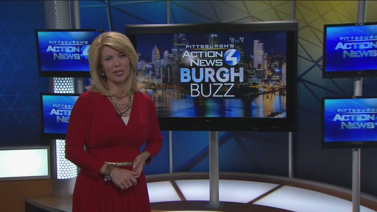 Pittsburgh's Action News 4's Kelly Frey has today's edition of the Burgh Buzz for all things happening in Pittsburgh