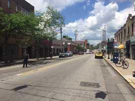 Murray Avenue in Squirrel Hill