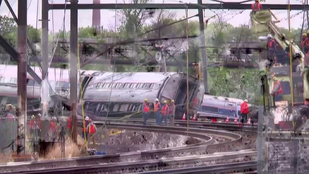 Speed factor in Amtrak crash