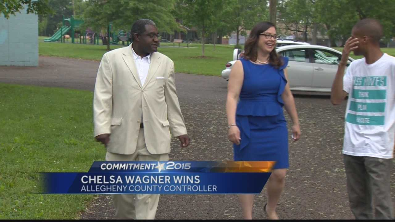Pittsburgh's Action News 4's Kelly Frey has the results of yesterday's election results which keeps Chelsa Wagner as Allegheny County Controller.