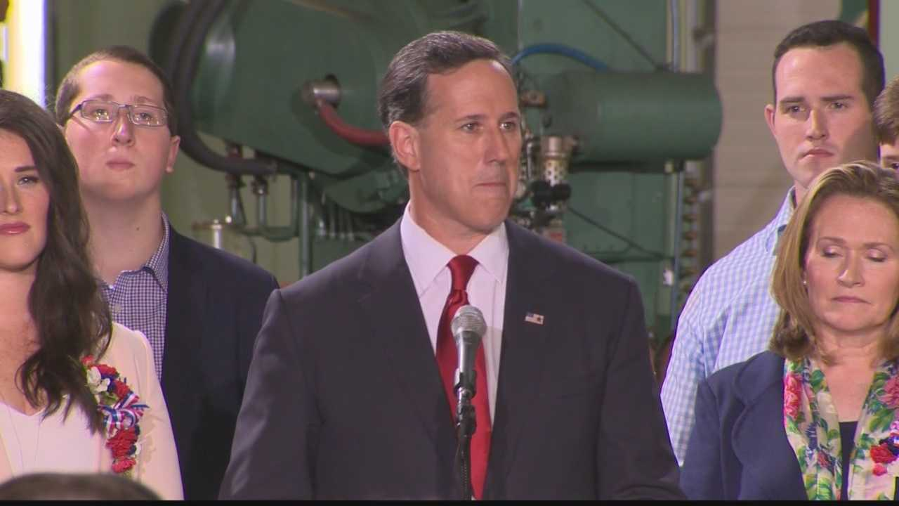 After coming up short in his 2012 campaign, former Pennsylvania Sen. Rick Santorum will take another run at the White House. He made the announcement today at a Butler County factory.