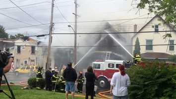 Crews battle Rochester fire on Case Street