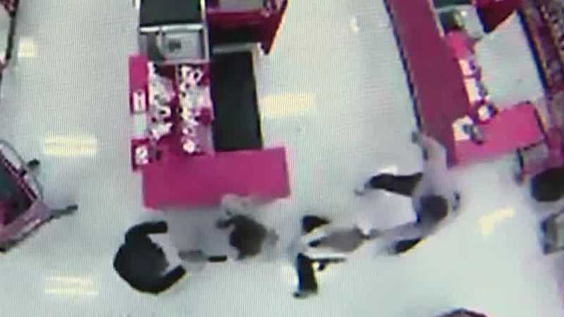 Raw video: Stabbing attack in East Liberty Target store