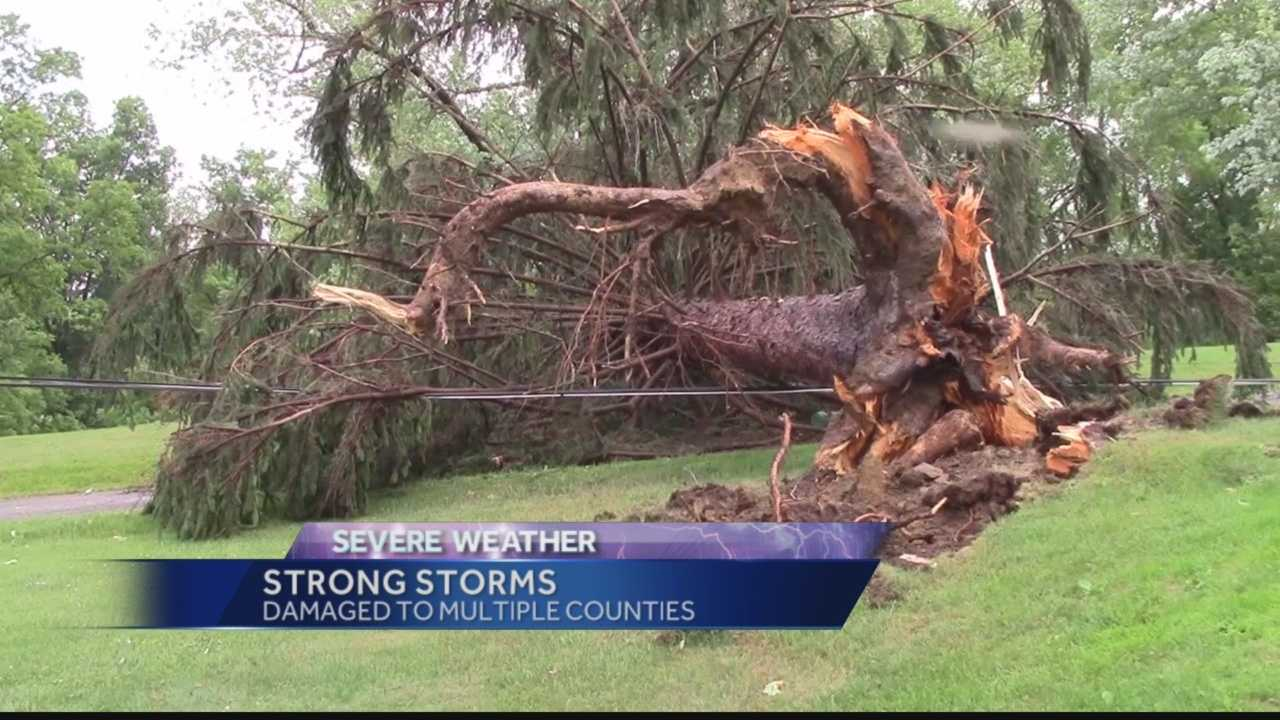 Pittsburgh's Action News 4's Katelyn Sykes has the latest on the storm damage that occurred in Armstrong, Butler, and Indiana counties on Thursday night and the clean-up efforts happening today.