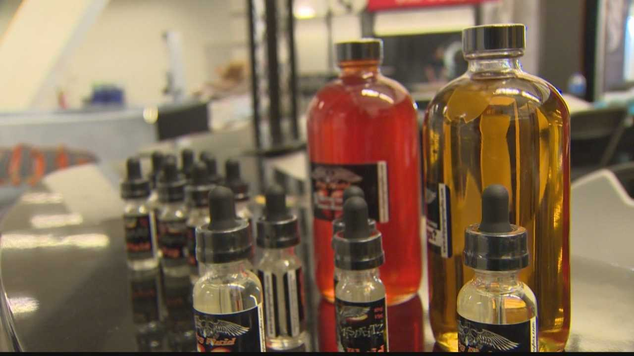 The major vaping convention is being held at the David L. Lawrence convention center this weekend.  It serves as a marketplace for vaping hardware, flavored juices, and for advocacy.