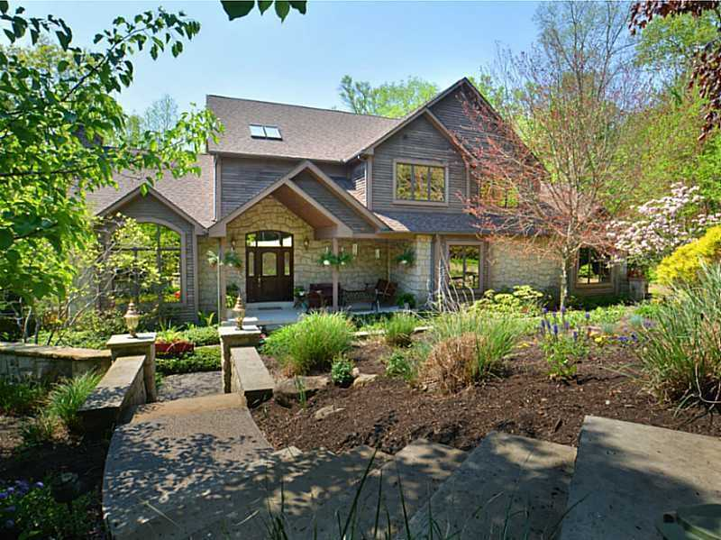 This home is perfect for the nature lover with over ten acres of private walking trails, a custom built gazebo, and multiple picnic areas. The home is listed for $1.25M and is featured on realtor.com.