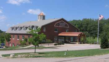 The Adams Township municipal building.